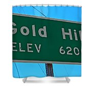 Gold Hill Shower Curtain
