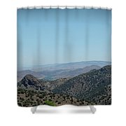 Gold In The Hills Virginia City Nv Shower Curtain