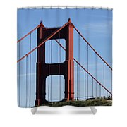 Golden Gate North Tower Shower Curtain