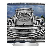 Golden Gate Park Stage  Shower Curtain