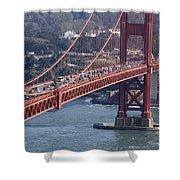 Golden Gate Traffic Shower Curtain