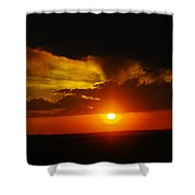 Golden Moments Shower Curtain