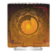 Golden Ratio 2012 Shower Curtain