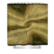 Golden Tug Of War Shower Curtain