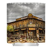 Goldfield Ghost Town - Peterson's Mercantile  Shower Curtain