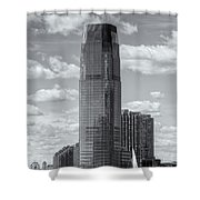 Goldman Sachs Tower Iv Shower Curtain