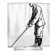 Golf, 1891 Shower Curtain