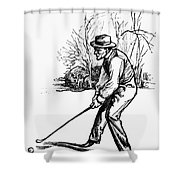 Golf, C1920 Shower Curtain