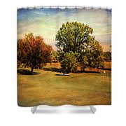 Golf Course II Shower Curtain