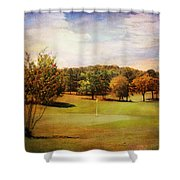 Golf Course IIi Shower Curtain