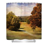 Golf Course Iv Shower Curtain