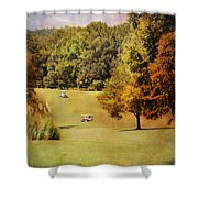 Golf Course V Shower Curtain