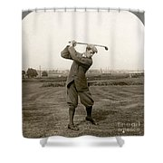 Golf: George Duncan, 1920s Shower Curtain