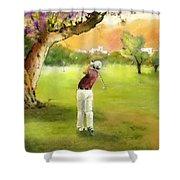 Golf In Spain Castello Masters  04 Shower Curtain