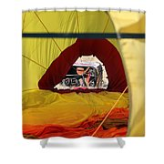 Gondola Envelopment Shower Curtain
