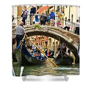 Gondolas Galore Shower Curtain