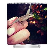 Good Bye Little Coffee Mate. Shower Curtain by Katie Cupcakes