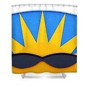 Good Day Sunshine Shower Curtain
