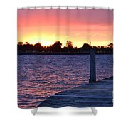 Good Morning From Marysville Michigan Usa Shower Curtain