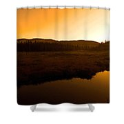 Good Morning Laurentians ...   Shower Curtain