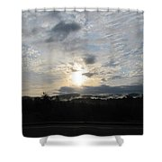 Good Morning New York State Shower Curtain