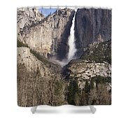 Good Morning Yosemite Shower Curtain