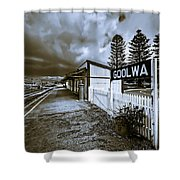 Goolwa Station Shower Curtain