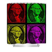 Gorge Washington In Colors Shower Curtain