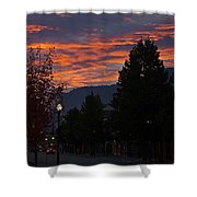 Gorgeous Sunrise On G Street Shower Curtain