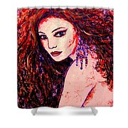 Gorgeous Woman Shower Curtain