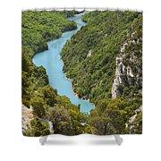Gorges Du Verdon Shower Curtain