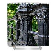 Gothic Design Shower Curtain