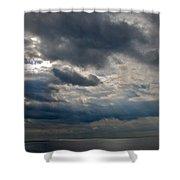 Gozo Skies Shower Curtain