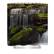 Gracefully Flowing Shower Curtain