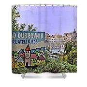 Grad Dubrovnik Shower Curtain