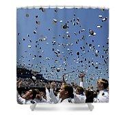 Graduates Of The U.s. Naval Academy Shower Curtain