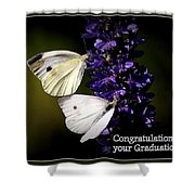 Graduation Congratulations Shower Curtain