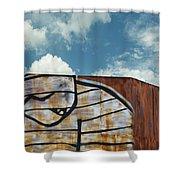 Graffiti Monster Shower Curtain