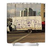 Graffiti Truck Shower Curtain