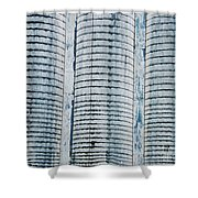 Grain Elevator Shower Curtain