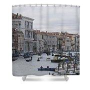 Gran Canal. Venice Shower Curtain