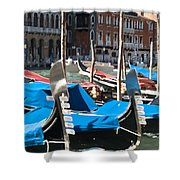 Grand Canal Gondolas Painting Shower Curtain