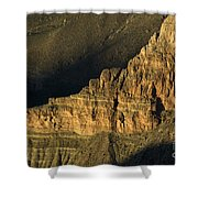 Grand Canyon Bathed In Light Shower Curtain