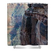 Grand Canyon Close Enough Shower Curtain