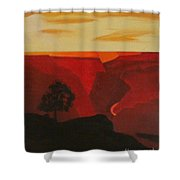 Grand Canyon Contemporary 1 Shower Curtain
