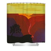 Grand Canyon Contemporary 2 Shower Curtain