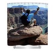 Grand Canyon Feeling All Right Shower Curtain