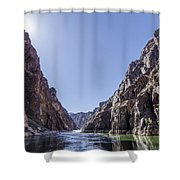 Grand Canyon Gorge Shower Curtain