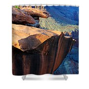 Grand Canyon Into Space Shower Curtain