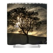 Grand Canyon Into The Mystic Shower Curtain
